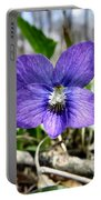 Plumb Wildflowers Portable Battery Charger