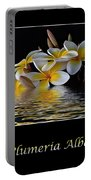 Plumeria Alba Portable Battery Charger