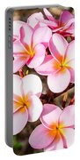 Plumerias Of Paradise 2 Portable Battery Charger