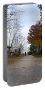 Plymouth Meeting Friends In Autumn Portable Battery Charger