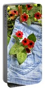 Pocket Full Of Posies Portable Battery Charger