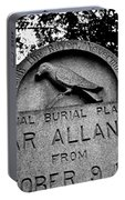 Poe's Original Burial Place Portable Battery Charger