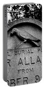 Poe's Original Burial Place Portable Battery Charger by Jennifer Ancker