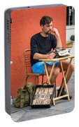 Poet For Hire Portable Battery Charger