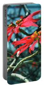 Poinsettia Africa Portable Battery Charger