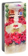 Poinsettias Portable Battery Charger
