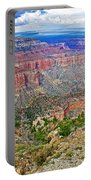 Point Imperial 8803 Feet On North Rim Of Grand Canyon National Park-arizona   Portable Battery Charger