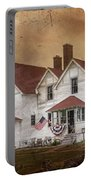 Point Iroquois Lighthouse Michigan Portable Battery Charger