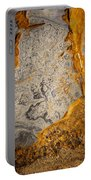 Point Lobos Abstract 12 Portable Battery Charger