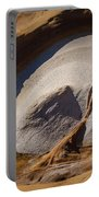 Point Lobos Abstract 3 Portable Battery Charger