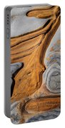 Point Lobos Abstract 5 Portable Battery Charger