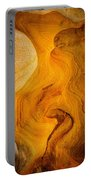 Point Lobos Abstract 6 Portable Battery Charger