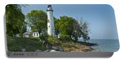 Pointe Aux Barques Lighthouse Portable Battery Charger