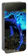 Poison Blue Dart Frog Portable Battery Charger