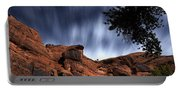 Poison Spider Mesa Under Moonlight Portable Battery Charger
