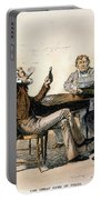 Poker Game, 1840s Portable Battery Charger
