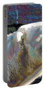Polar Bear With Enameled Effect Portable Battery Charger