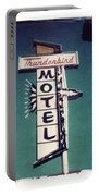 Polaroid Transfer Motel Portable Battery Charger by Jane Linders