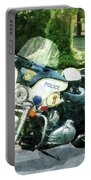 Police - Police Motorcycle Portable Battery Charger