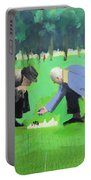 Polish Chess Players  Portable Battery Charger by Paul Powis