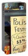Polish Food Street Stand Portable Battery Charger