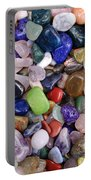 Polished Gemstones Portable Battery Charger