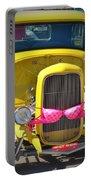 Polka Dot Bikini Portable Battery Charger