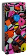 Polka Dot Colorful Candy Portable Battery Charger
