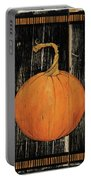 Polka Dot Pumpkin I Portable Battery Charger