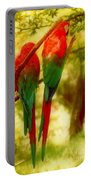 New Orleans Polly Wants Two Crackers At New Orleans Louisiana Zoological Gardens  Portable Battery Charger