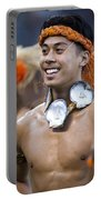 Polynesian Dancers Portable Battery Charger