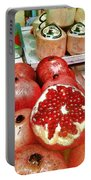 Pomegranates In Open Market Portable Battery Charger