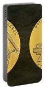 Ponca Tribe Code Talkers Bronze Medal Art Portable Battery Charger
