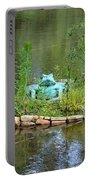 Pond Frog Portable Battery Charger