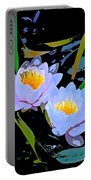 Pond Lily 17 Portable Battery Charger