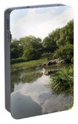 Pond Reflection - Central Park Portable Battery Charger