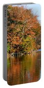 Pond Reflections Portable Battery Charger