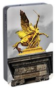 Pont Alexander IIi Fragment In Paris Portable Battery Charger