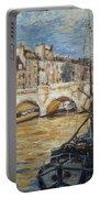 Pont Neuf Paris Portable Battery Charger