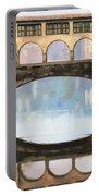 Ponte Vecchio A Firenze Portable Battery Charger by Guido Borelli
