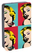 Pop Art Collage  Portable Battery Charger
