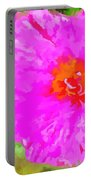Pop Art Floral Portable Battery Charger
