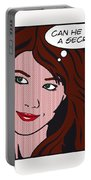 Pop Art Porn Stars - Mia Sollis Portable Battery Charger