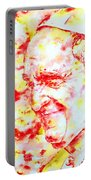 Pope Francis Profile -watercolor Portrait Portable Battery Charger