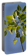 Poplar Leaves Portable Battery Charger