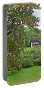 Poplar Tree In The Valley Portable Battery Charger