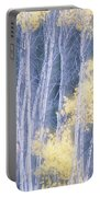 Poplar Trees In Autumn, Grey Creek Portable Battery Charger