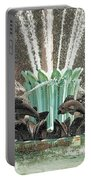 Popp Fountain In City Park New Orleans Portable Battery Charger