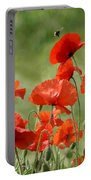 Poppies 1 Portable Battery Charger