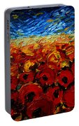 Poppies 2 Portable Battery Charger
